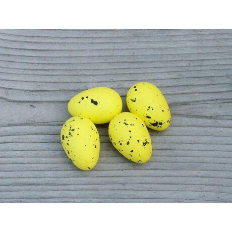 Húsvéti dekor sárga tojások