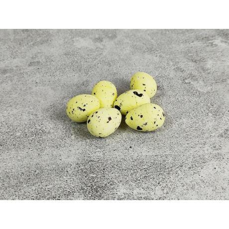 3,5 cm-es halványsárga tojások
