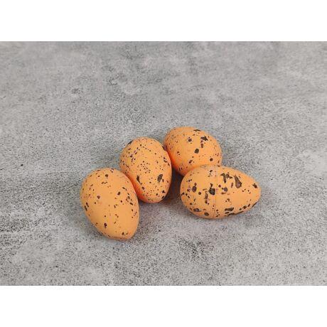 Húsvéti dekor narancs tojások