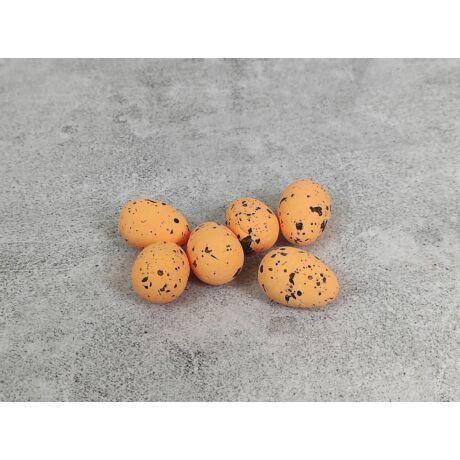 Húsvéti dekor narancs színű tojás