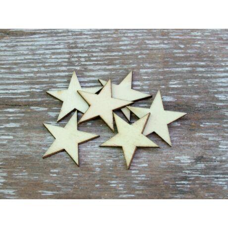 Natúr fa mini csillagok