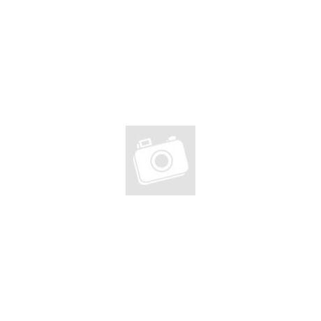 Selyemvirág nyílt rózsa krém színben