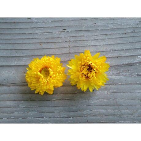 Szárazvirág szalmarózsa sárga színben