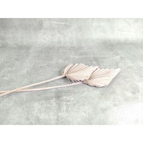 Szárított pálmalevél halvány rózsaszín árnyalat