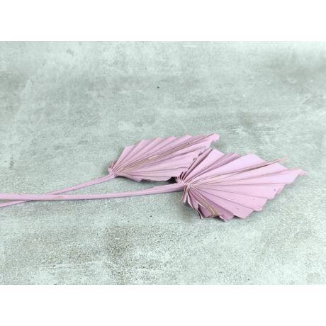 Szárított pálmalevél élénk rózsaszín