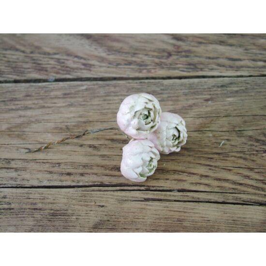 dekorációs kellék kerámia virág
