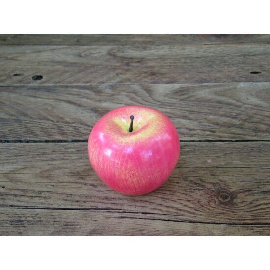őszi dekorációs kellék mű alma nagy