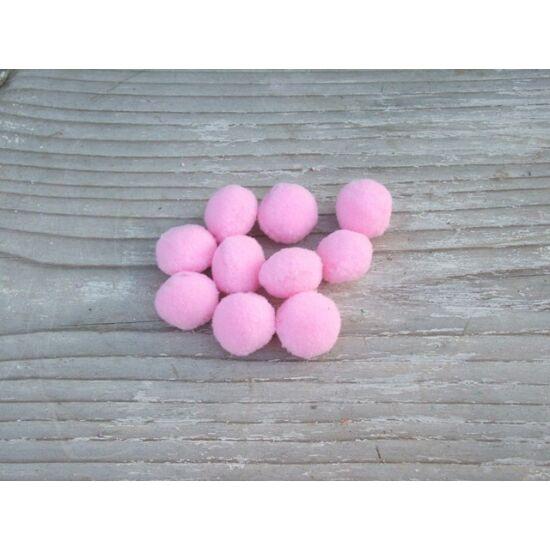 Csináld magad  ötletek készítéséhez gyapjúgolyó rózsaszín árnyalatban