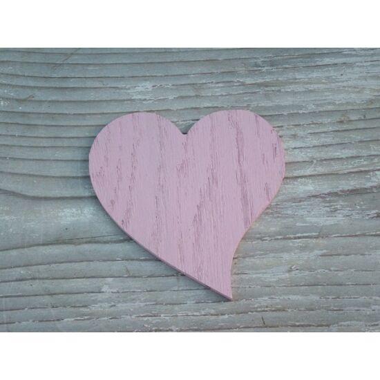Dekorációs ötletek elkészítéséhez szív fából rózsaszínben Díszíts virággal -Kreatív webáruház