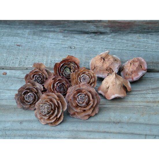 Dekoráció ötlet száraz virágforma