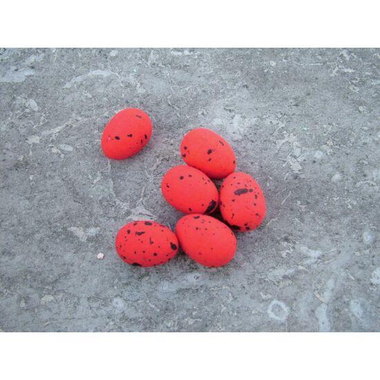 Húsvéti dekorációs kellékek piros tojás