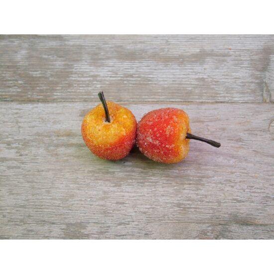 Őszi dekorációs kellék jeges alma
