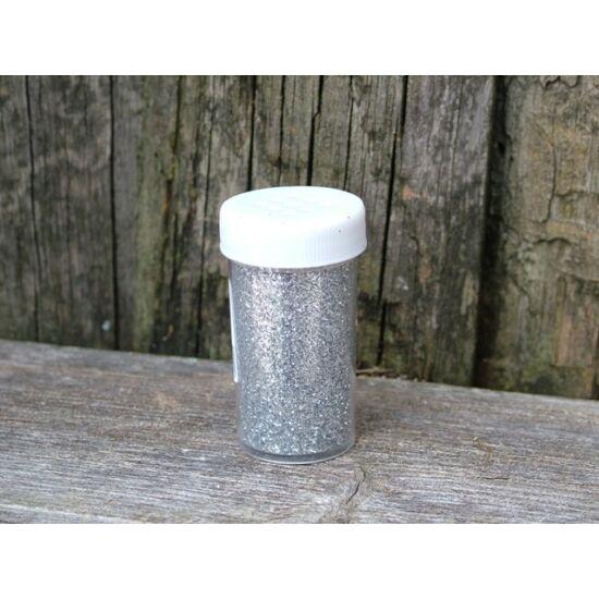 Karácsonyi ezüst glitter szórófejes 25 gr.