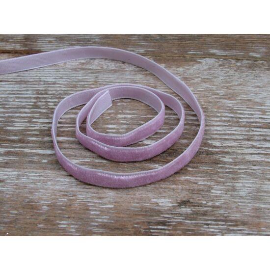 Fáradt lila bársonyszalag 6 mm-es